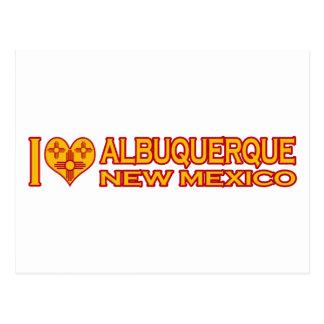I Love Albuquerque, NM Postcard