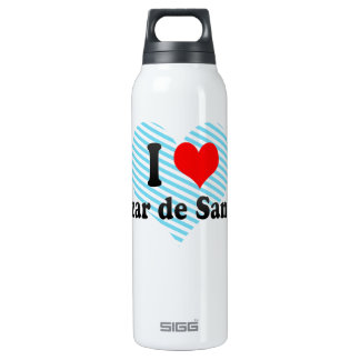 I Love Alcazar de San Juan, Spain 16 Oz Insulated SIGG Thermos Water Bottle