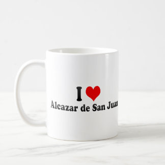 I Love Alcazar de San Juan, Spain Classic White Coffee Mug