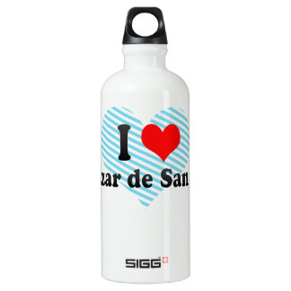 I Love Alcazar de San Juan, Spain SIGG Traveler 0.6L Water Bottle