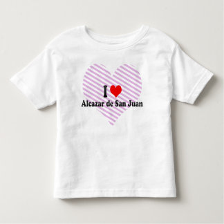 I Love Alcazar de San Juan, Spain T-shirts