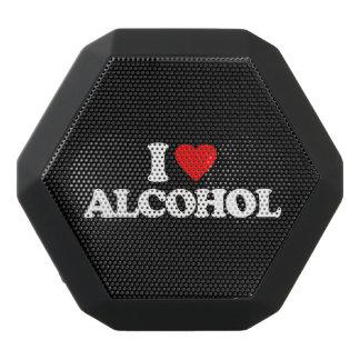 I LOVE ALCOHOL BLACK BLUETOOTH SPEAKER