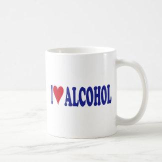 I Love Alcohol Coffee Mug
