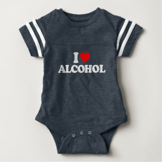 I LOVE ALCOHOL T-SHIRT