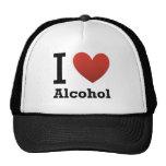 I Love Alcohol Trucker Hats