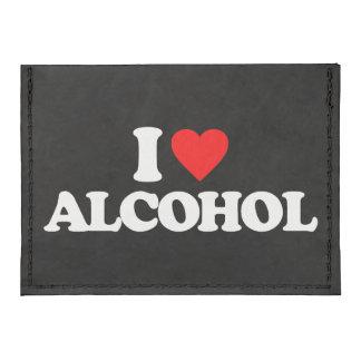 I LOVE ALCOHOL TYVEK® CARD WALLET