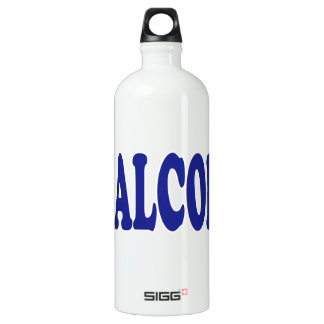 I Love Alcohol Water Bottle