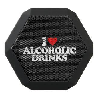 I LOVE ALCOHOLIC DRINKS BLACK BLUETOOTH SPEAKER