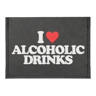I LOVE ALCOHOLIC DRINKS TYVEK® CARD WALLET