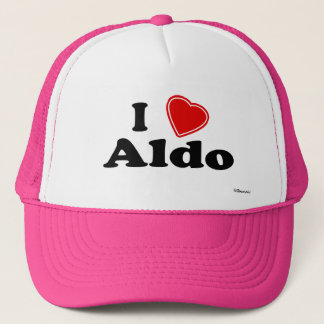I Love Aldo Trucker Hat