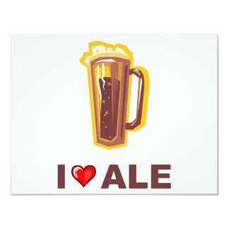 I Love Ale Card