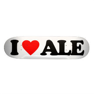 I LOVE ALE SKATEBOARD DECK