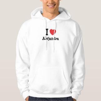 I love Alejandra heart T-Shirt