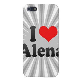 I love Alena iPhone 5 Cover