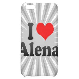 I love Alena iPhone 5C Covers
