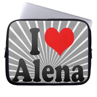 I love Alena Laptop Sleeves