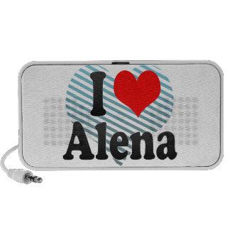 I love Alena iPod Speaker