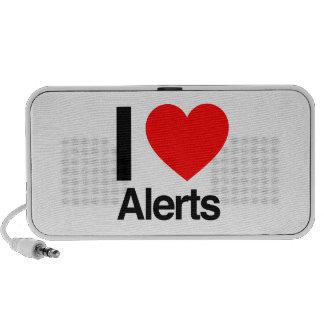 i love alerts speakers