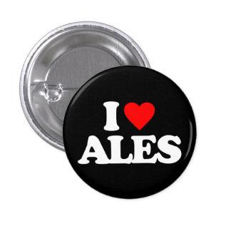 I LOVE ALES PIN