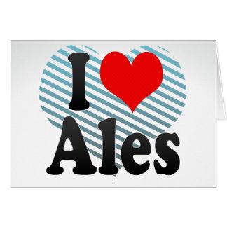 I Love Ales, France Card