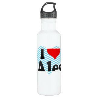 I Love Ales, France Water Bottle
