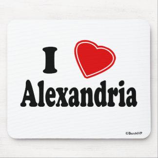 I Love Alexandria Mouse Pad