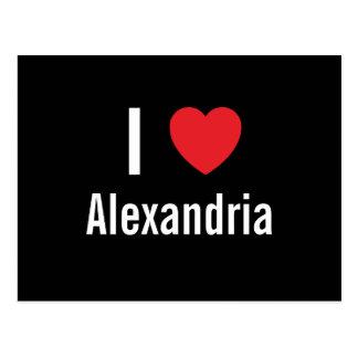I love Alexandria Postcard