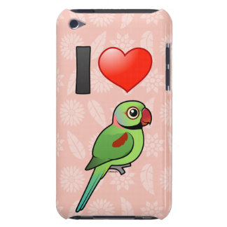 I Love Alexandrine Parakeets iPod Touch Case-Mate Case