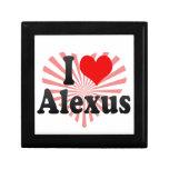 I love Alexus Gift Box
