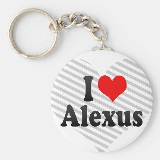 I love Alexus Keychain