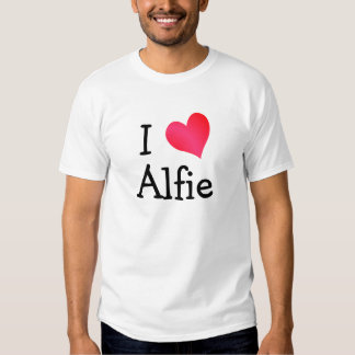 I Love Alfie Tee Shirt