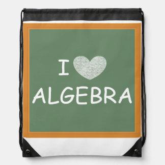 I Love Algebra Backpacks