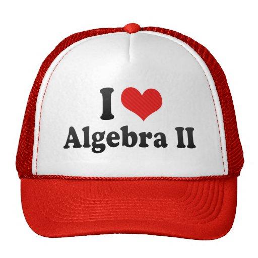 I Love Algebra II Hat