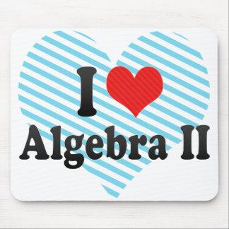 I Love Algebra II Mouse Pad