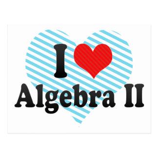 I Love Algebra II Postcard