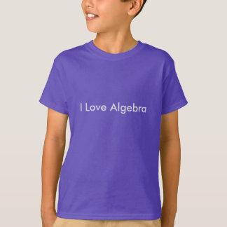 I Love Algebra Kids T T-Shirt