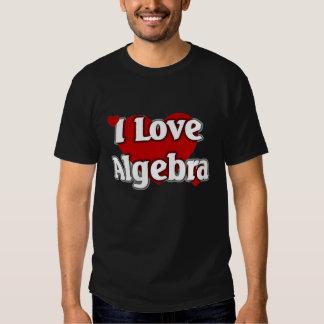 I love Algebra Shirt