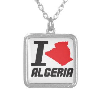 i love algeria colgante cuadrado