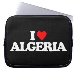I LOVE ALGERIA COMPUTER SLEEVES