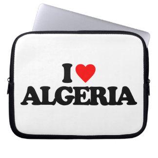 I LOVE ALGERIA LAPTOP SLEEVES