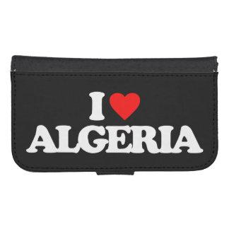 I LOVE ALGERIA GALAXY S4 WALLET CASE