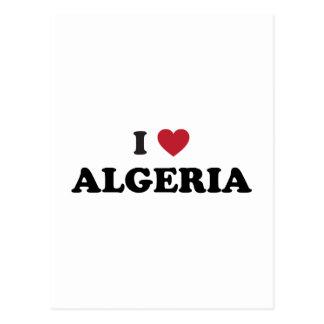 I Love Algeria Postcard