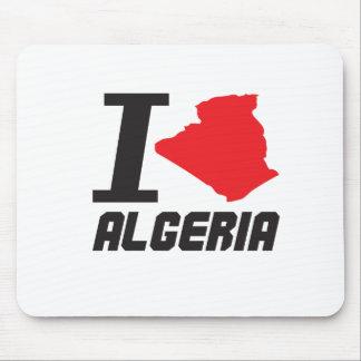 i love algeria tapetes de ratón