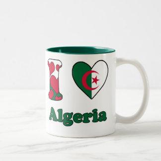 I love Algeria Two-Tone Coffee Mug