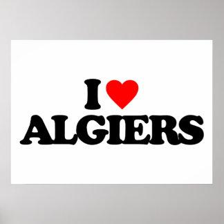 I LOVE ALGIERS POSTERS
