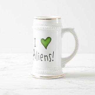 I Love Aliens II Mug