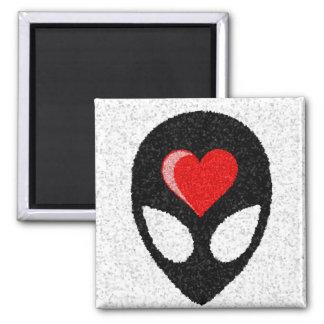 I LOVE aLiEnS! Magnet