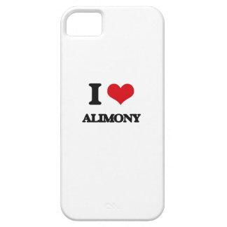 I Love Alimony iPhone 5 Cases
