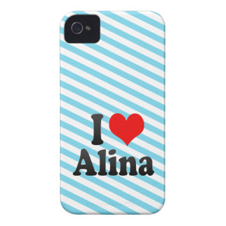 I love Alina iPhone 4 Cover