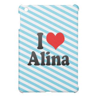 I love Alina iPad Mini Cover